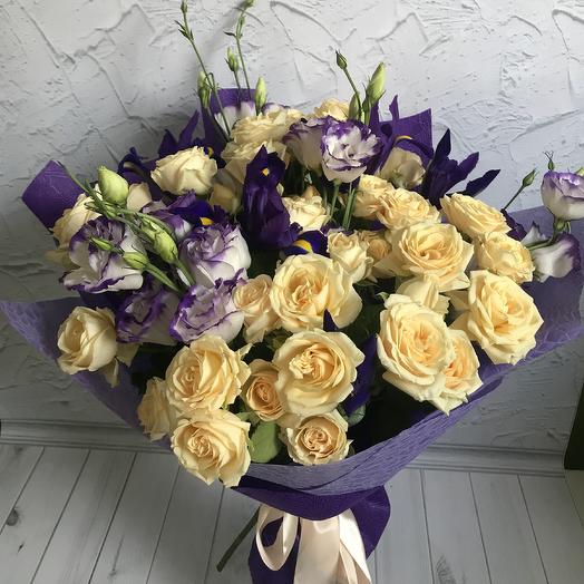 Ежевичный торт: букеты цветов на заказ Flowwow