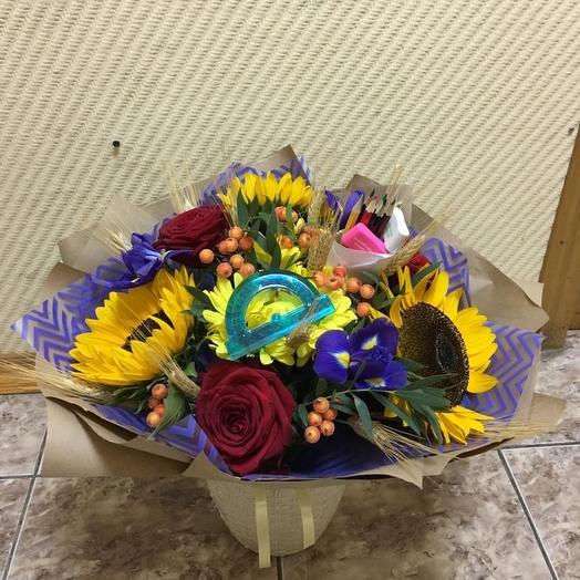 Школа,школа: букеты цветов на заказ Flowwow