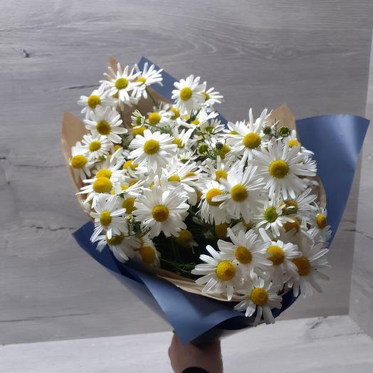 Ромашковый бум: букеты цветов на заказ Flowwow