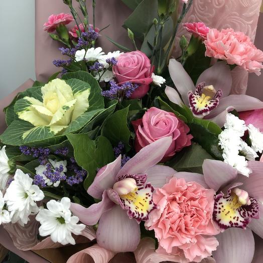 Линдт с капустой: букеты цветов на заказ Flowwow