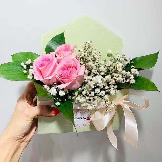 Письмо любви: букеты цветов на заказ Flowwow