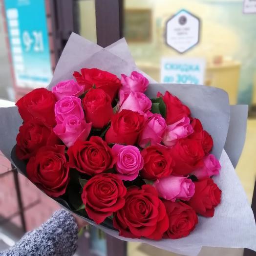 25 роз!)))