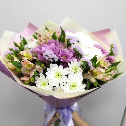 С праздником: букеты цветов на заказ Flowwow