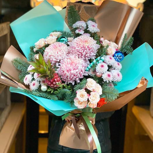 Новогодний фрукт: букеты цветов на заказ Flowwow
