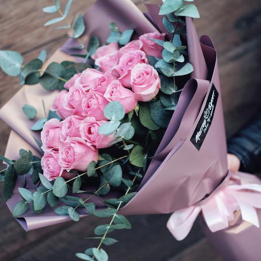 Bouquet cold evening