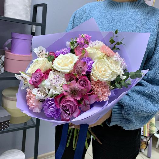 Радостный момент: букеты цветов на заказ Flowwow