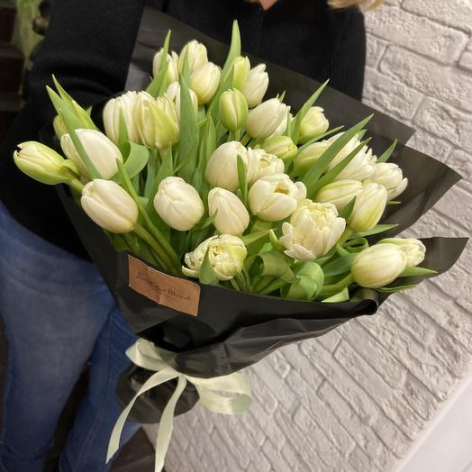 Шикарные пионовидные тюльпанчики: букеты цветов на заказ Flowwow