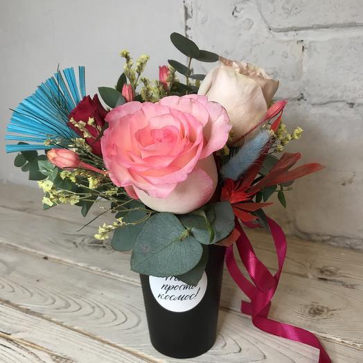Ты просто космос , Татьяна: букеты цветов на заказ Flowwow