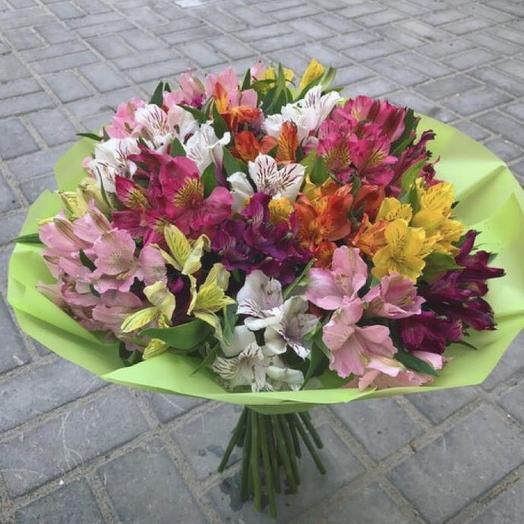 Яркий всплеск: букеты цветов на заказ Flowwow