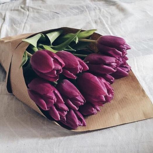 Фиолетовый взрыв: букеты цветов на заказ Flowwow