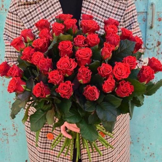 Букет роз Эльторо 41