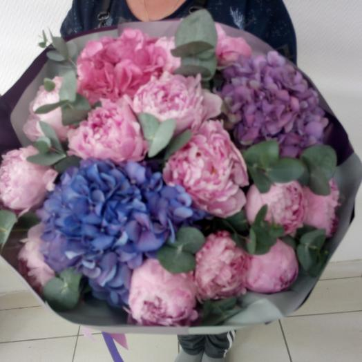 Эллегия утренней дымки: букеты цветов на заказ Flowwow