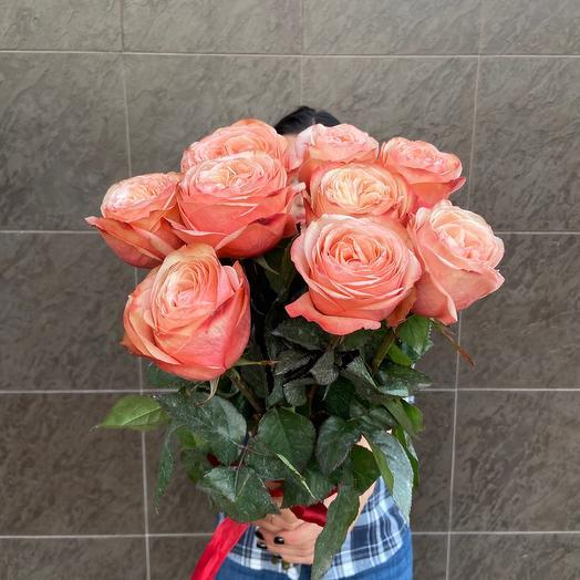 9 пионовидных роз 💕