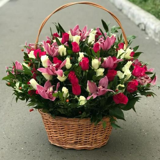 Корзина орхидея