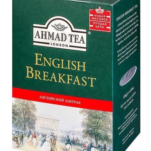 Чай черный  Ахмад английский завтрак 100 гр