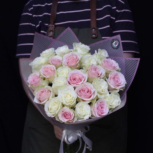 25 роз Premium Mix