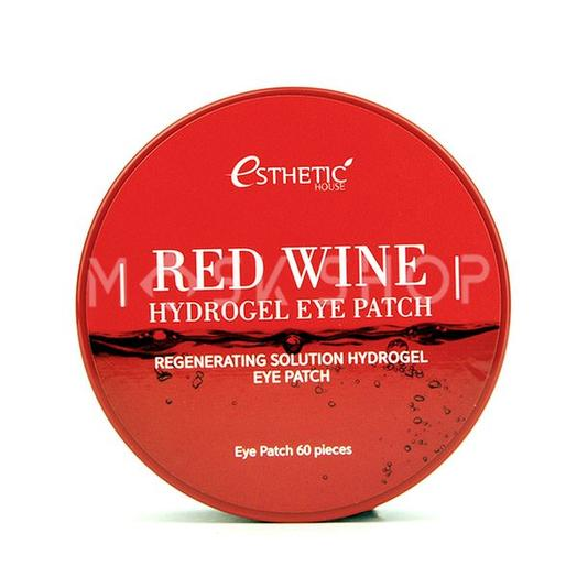 Гидрогелевые патчи с экстрактом красного вина Esthetic House Red Wine Hydrogel Eye Patch