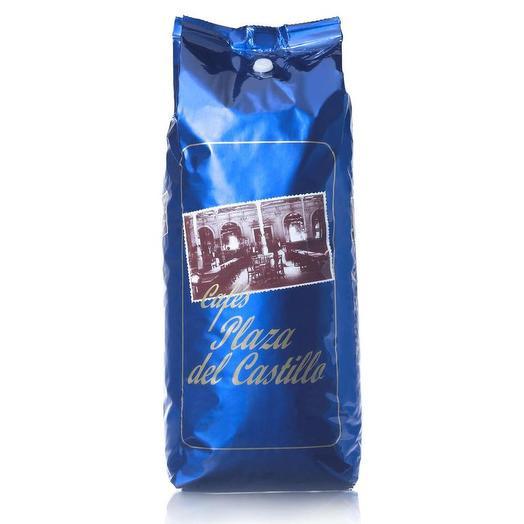 Кофе Plaza del Castillo обжарка Torrefacto 80% Арабика + 20% Робуста в зернах (1кг)
