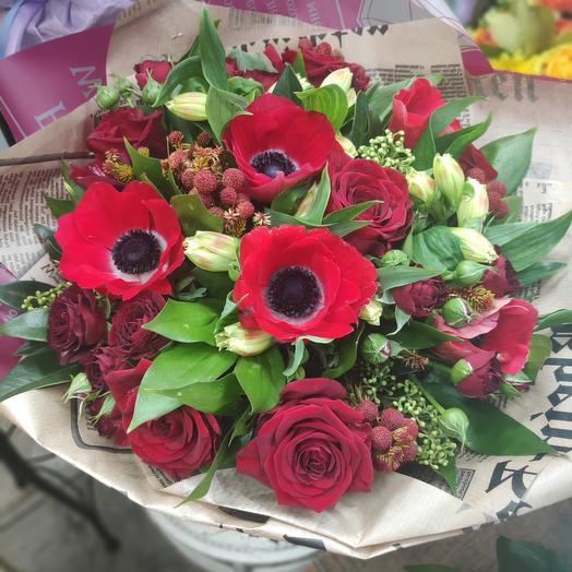 Букет цветов Танго в Париже