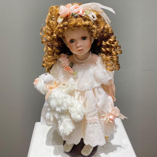 Кукла коллекционная фарфор