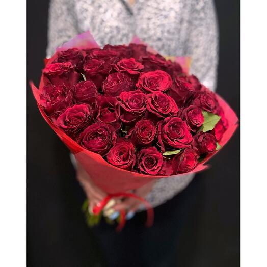 35 роз Red Torch