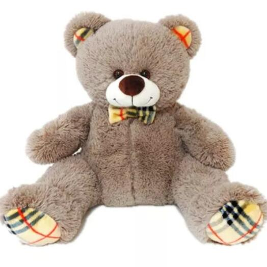 Медведь Сеня 90см. Цвет капучино