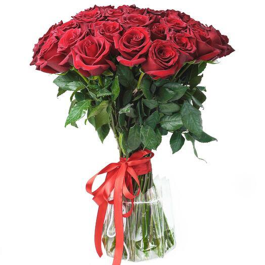 """Букет """"Катрин"""" из 21 розы сорта Эксплорер"""