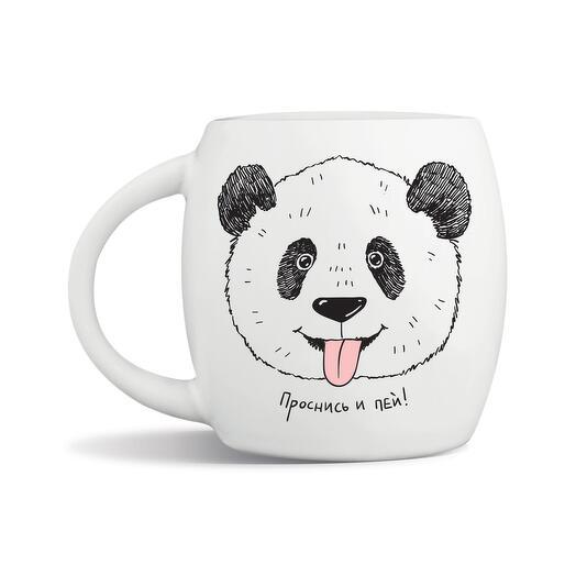 """Кружка """"Панда"""" Проснись и пей"""
