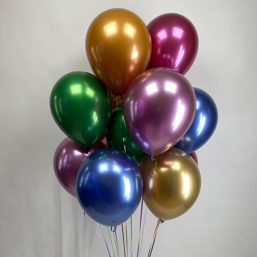 """Воздушные шары """"Хром"""""""