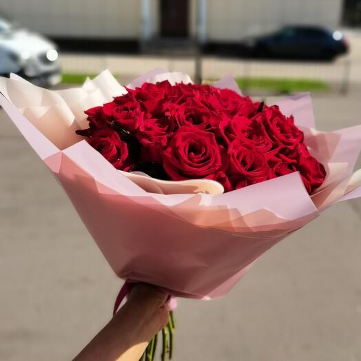 Роза 25 шт