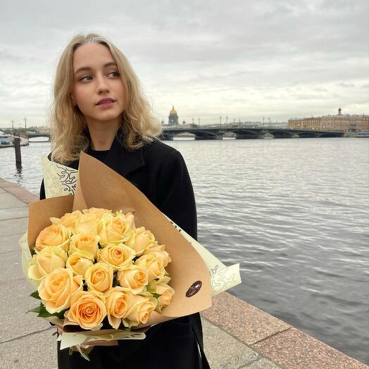 """Букет """"Кремовая любовь"""""""