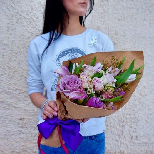 Маленький комплимент: букеты цветов на заказ Flowwow