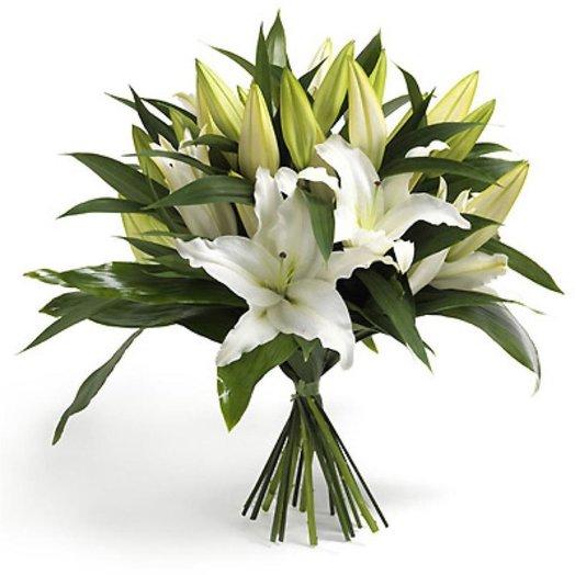 Букет Любимые лилии Код 160193