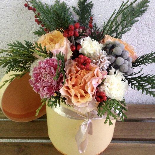 Персиковый день: букеты цветов на заказ Flowwow