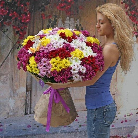 Букет Хризамикс: букеты цветов на заказ Flowwow