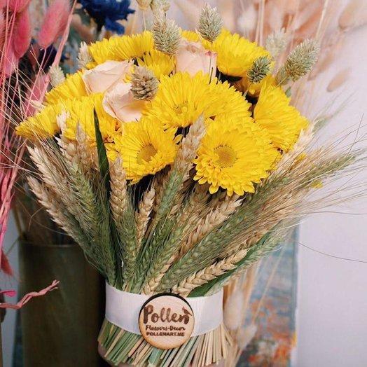 Солнечный снопик: букеты цветов на заказ Flowwow