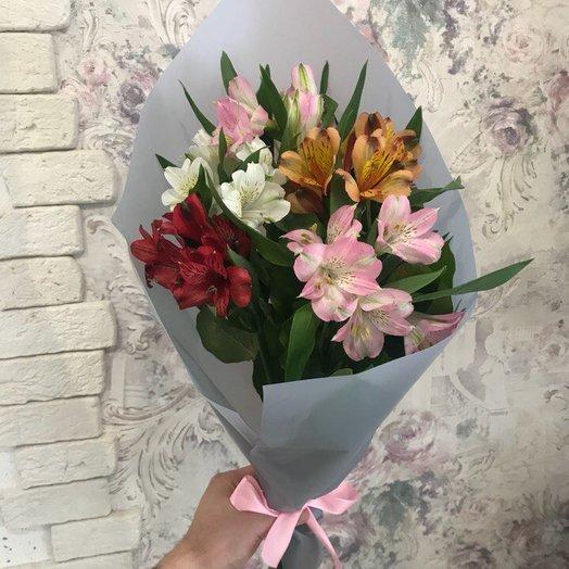 Альстромерий букет: букеты цветов на заказ Flowwow