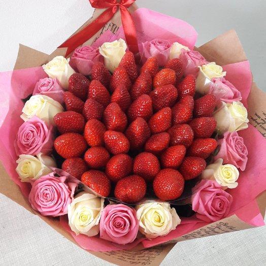 Благородный вкус: букеты цветов на заказ Flowwow