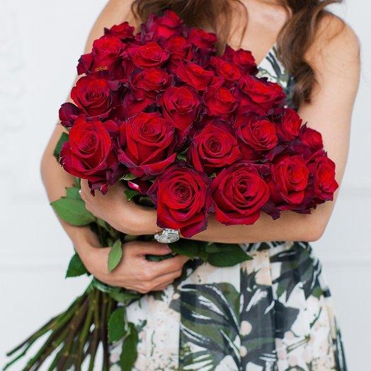 Букет 25 «Классика»: букеты цветов на заказ Flowwow