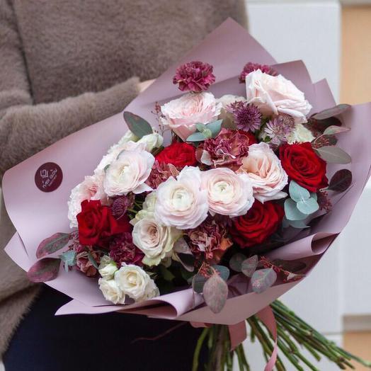 Букет Шарли: букеты цветов на заказ Flowwow
