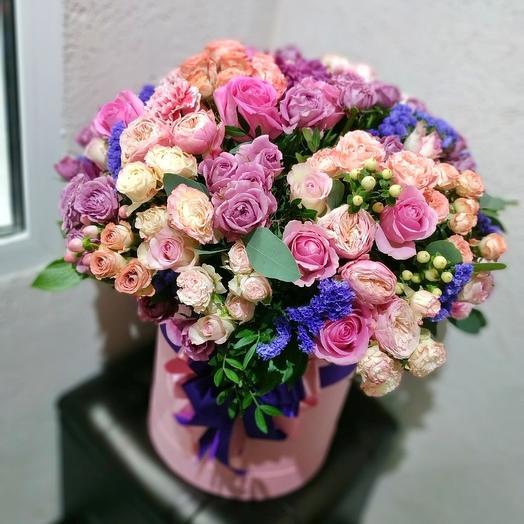 Коробка гигант: букеты цветов на заказ Flowwow