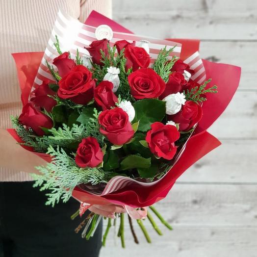 Рождественский: букеты цветов на заказ Flowwow