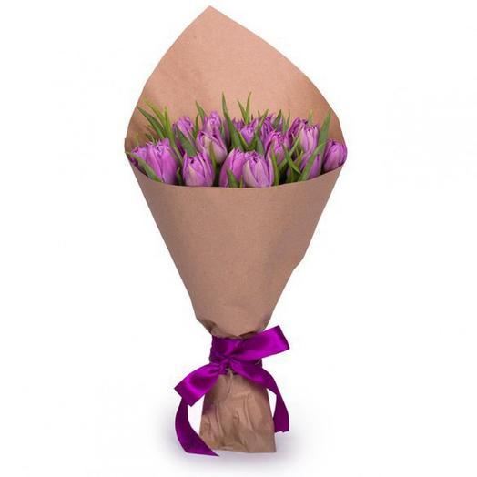 Тюльпан 15: букеты цветов на заказ Flowwow