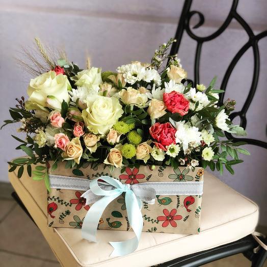 Симфония Любви: букеты цветов на заказ Flowwow