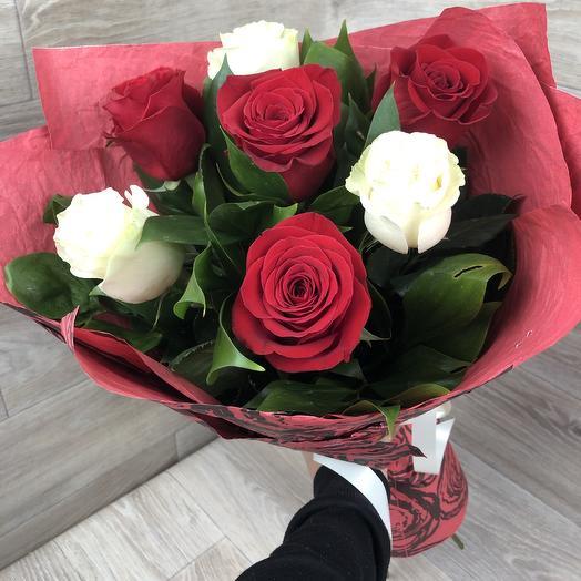 "Букет ""Мирна"": букеты цветов на заказ Flowwow"