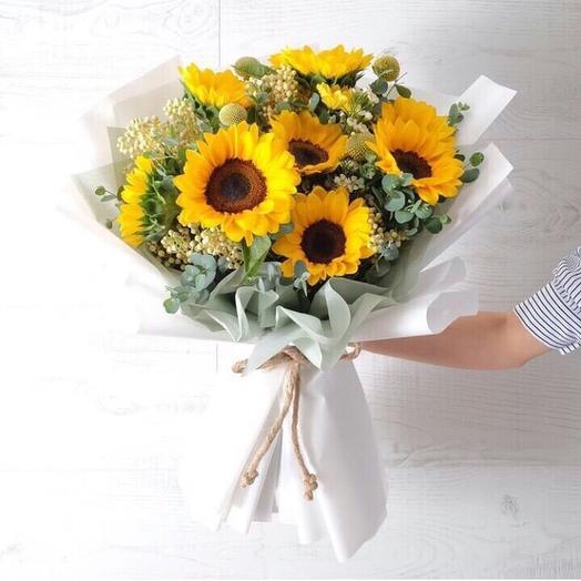 Утро на ранчо: букеты цветов на заказ Flowwow
