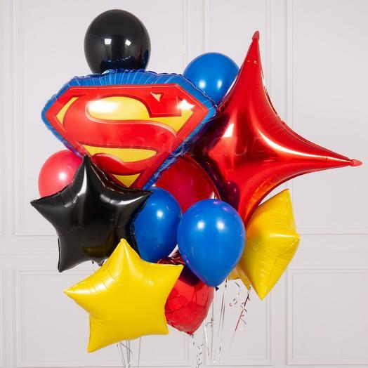 """Сет """"Superman"""": букеты цветов на заказ Flowwow"""