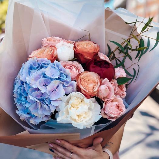 Букет Воздух: букеты цветов на заказ Flowwow