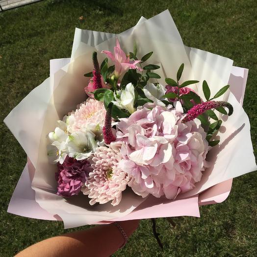Моей лапочке: букеты цветов на заказ Flowwow