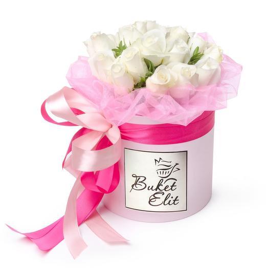 Белый плен: букеты цветов на заказ Flowwow